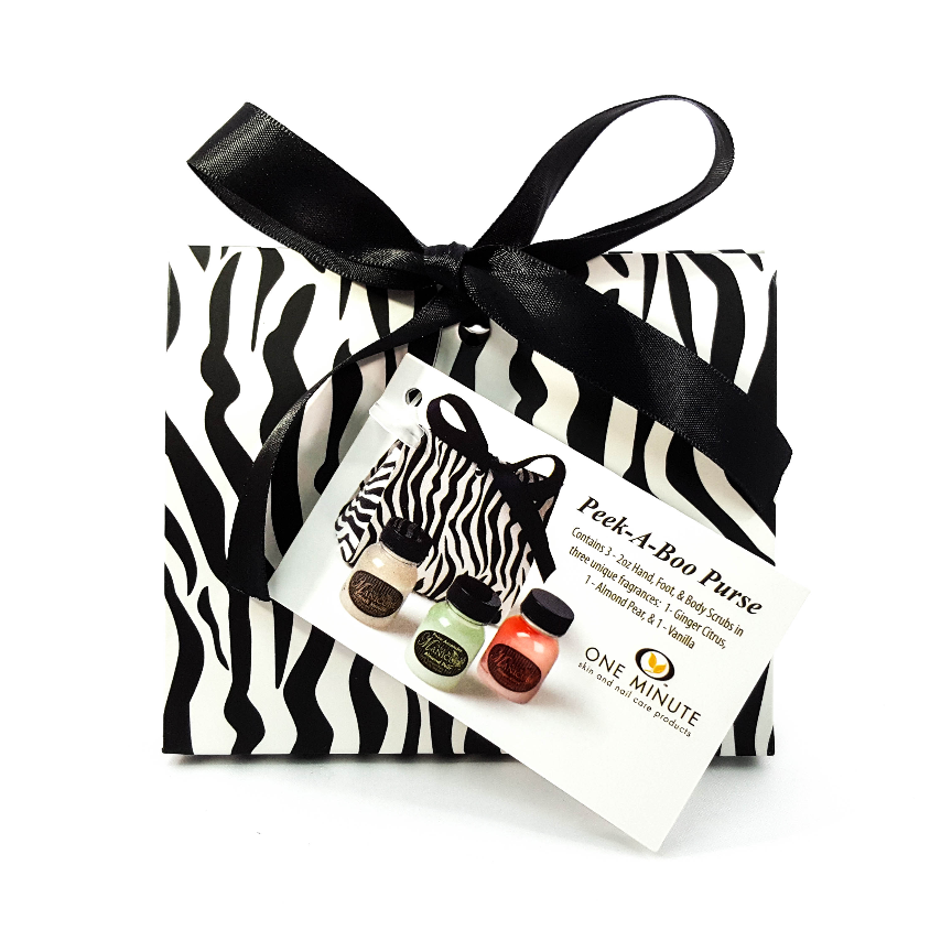 PEEK-A-BOO PURSE – ZEBRA