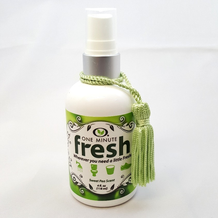 "One Minute Fresh 4oz ""Sweet Pea"""