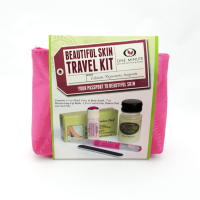 Beautiful Skin Travel Pink Bag