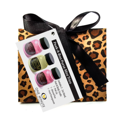 PEEK-A-BOO PURSE – LEOPARD
