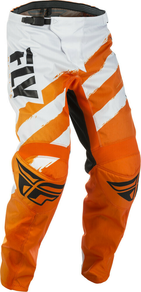 F-16 Pants Orange/White