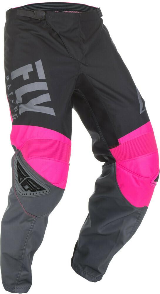 F-16 Pants Neon Pink/Black/Grey