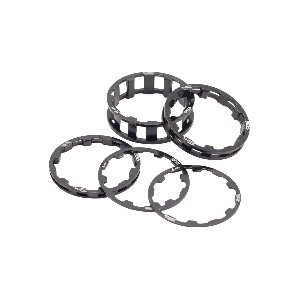Box Zero Headset Spacers 1 1/8