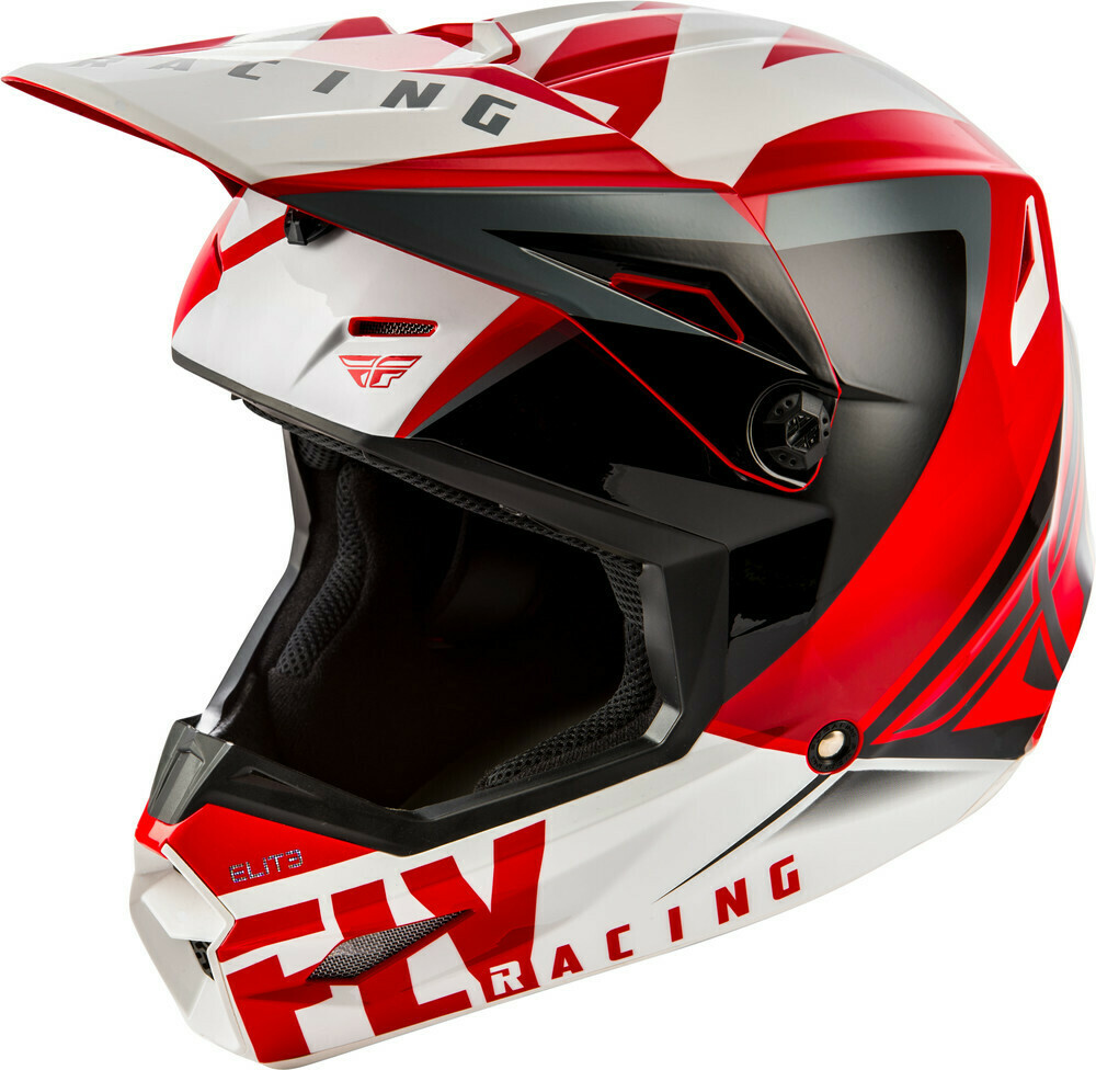 FLY RACING ELITE VIGILANT HELMET RED/BLACK