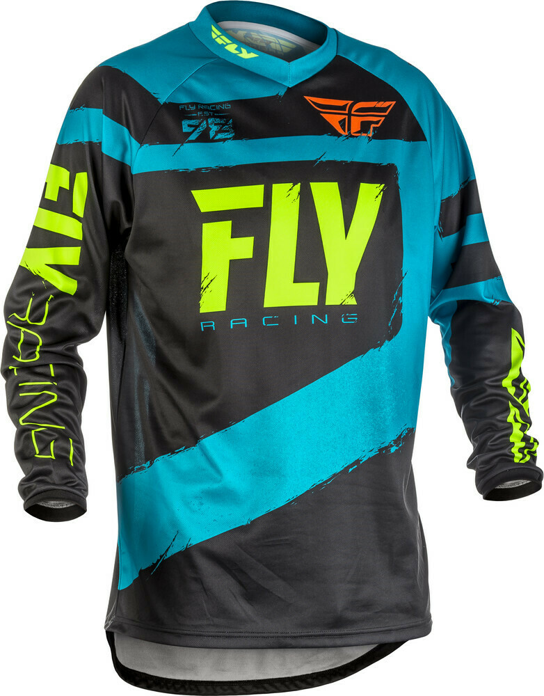 FLY RACING F-16 JERSEY BLUE/BLACK