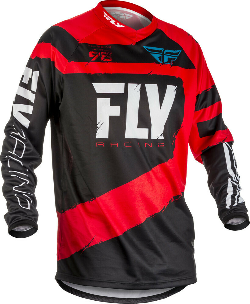 FLY RACING F-16 JERSEY RED/BLACK X
