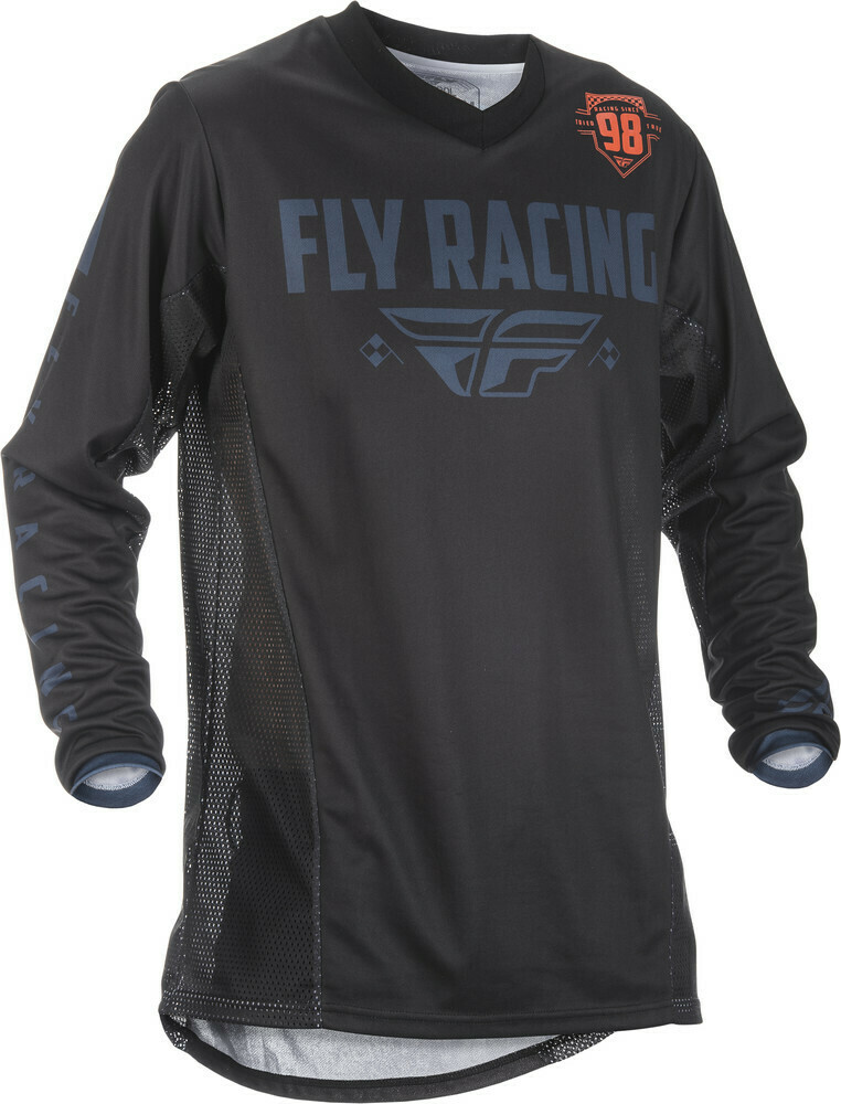 FLY RACING PATROL JERSEY BLACK/GREY