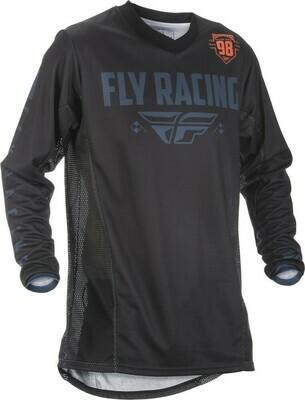 FLY RACING PATROL JERSEY BLACK/GREY