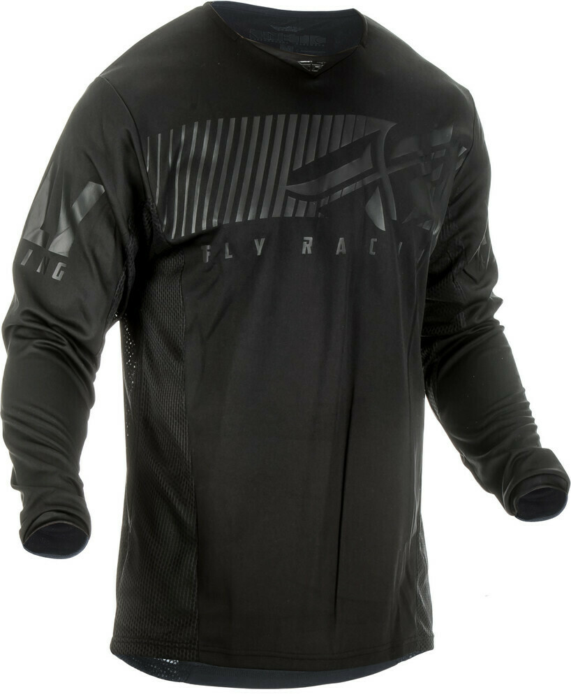 FLY RACING KINETIC SHIELD JERSEY BLACK