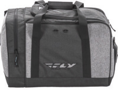 FLY RACING CARRY-ON DUFFLE BLACK/GREY