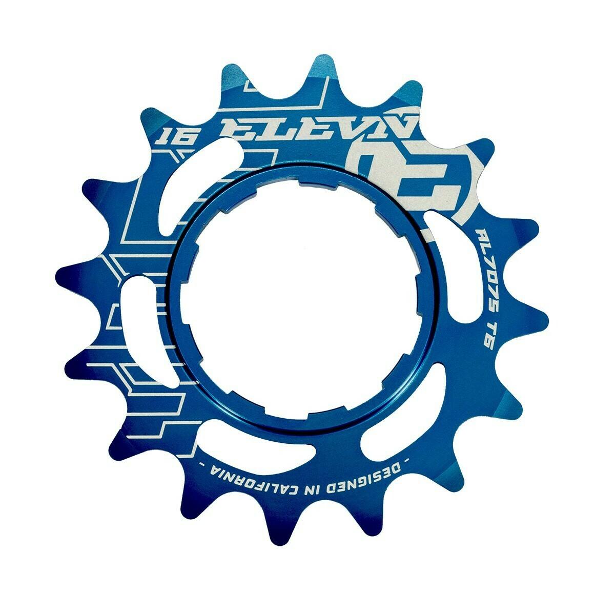 Elevn Alloy Cog Blue