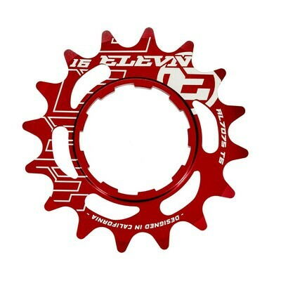 Elevn Alloy Cog Red
