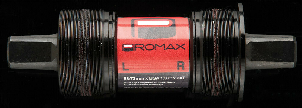 Promax ST-1 Square-Taper Bottom Bracket Black