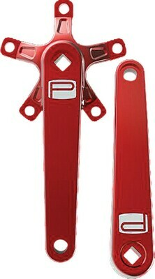 Promax St Crank Arm Set Red