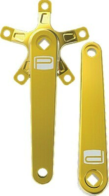 Promax St Crank Arm Set Gold