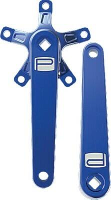 Promax St Crank Arm Set Blue