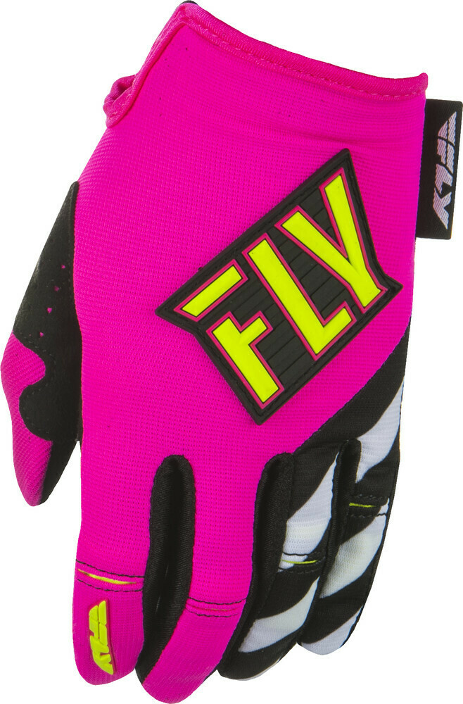 Kinetic Women's Gloves Neon Pink/Hi-Vis