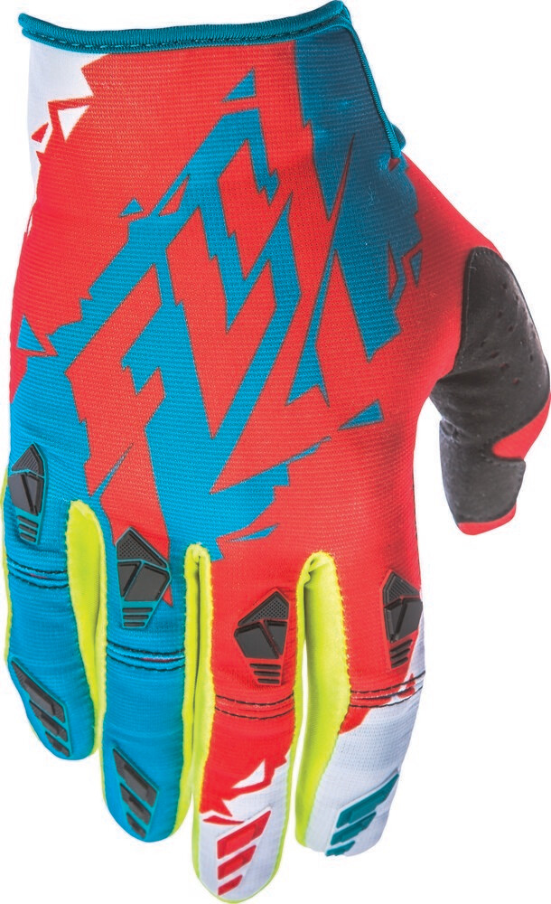 KINETIC GLOVE DARK TEAL/RED