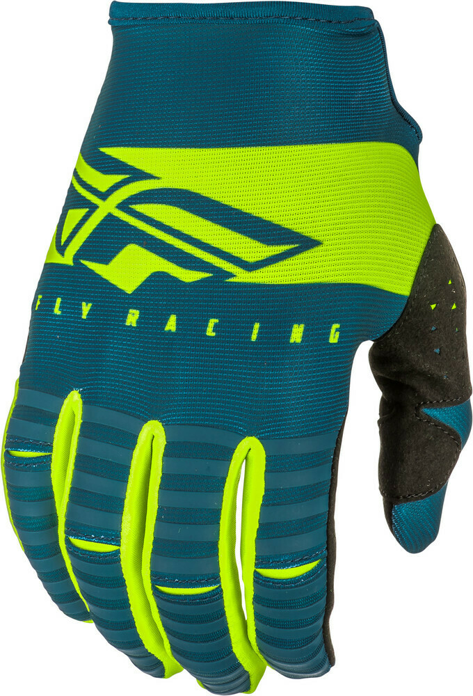 Kinetic Shield Gloves Navy/Hi-Vis Sz