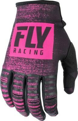 Kinetic Noiz Gloves Neon Pink/Black
