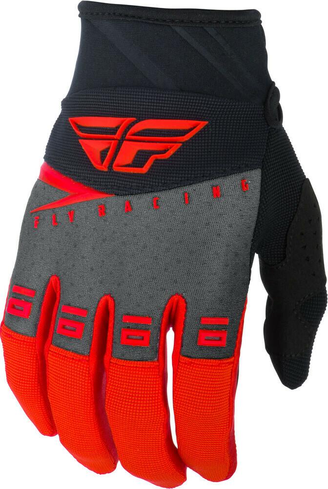 F-16 Gloves Red/Black Grey