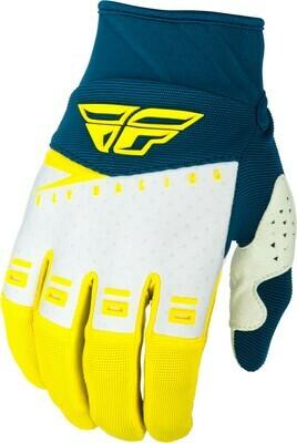 F-16 Gloves Yellow/White/Navy