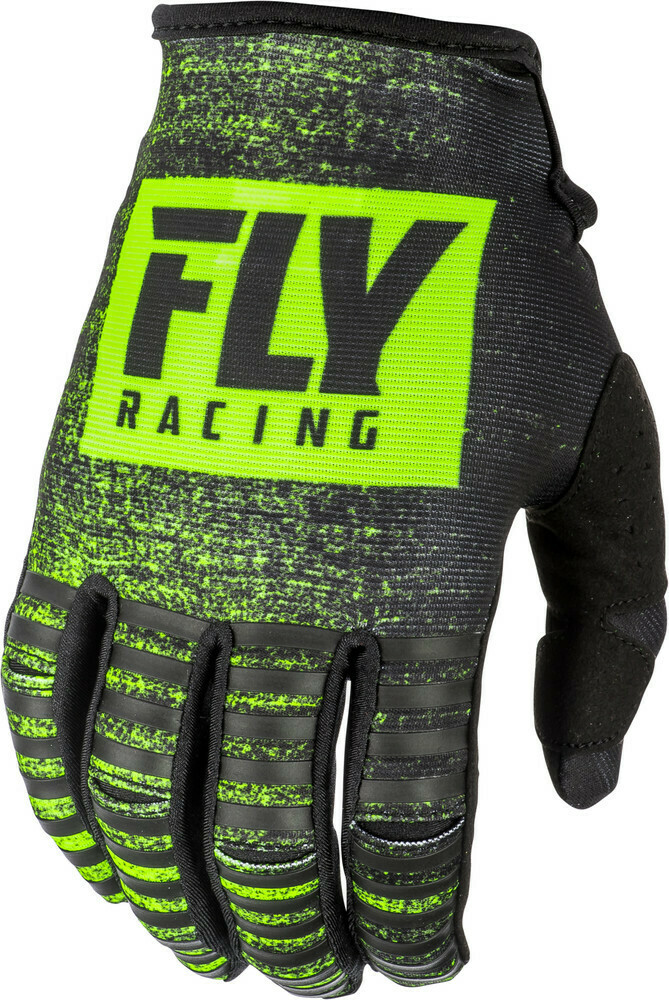 Kinetic Noiz Gloves Black/Hi-Vis