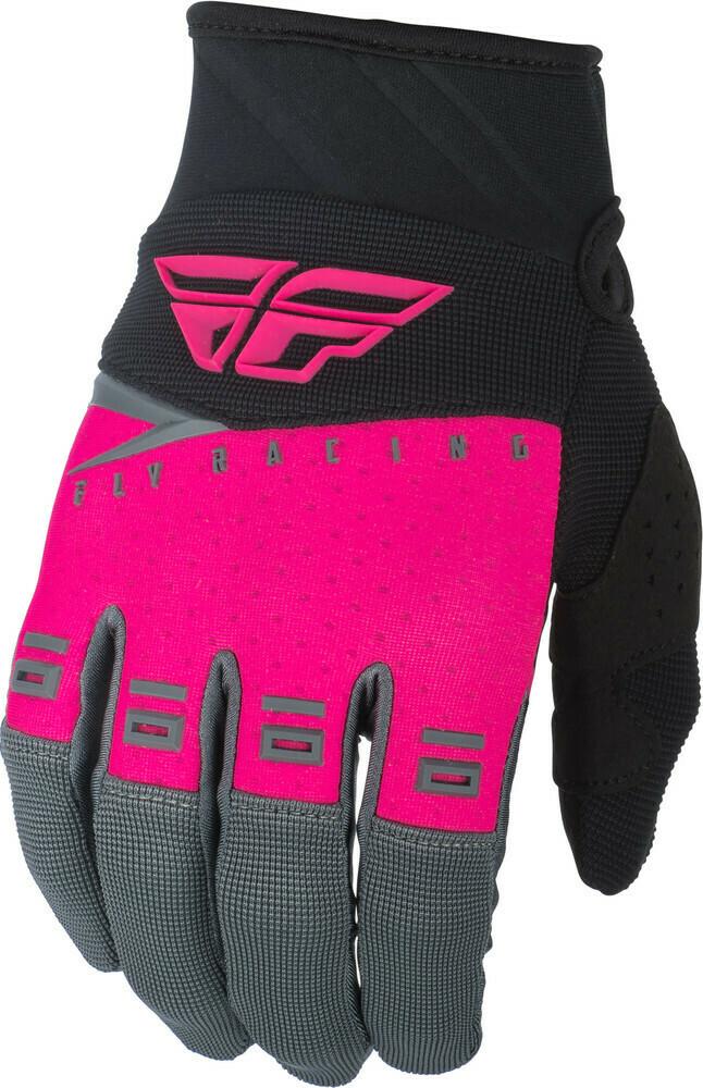 F-16 Gloves Neon Pink/Black/Grey