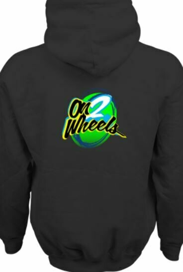 On 2 Wheels Hoodie