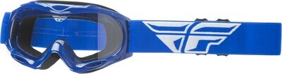 FLY RACING 2018 FOCUS GOGGLE BLUE W/CLEAR LENS