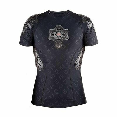 G-Form Men's Pro-X Short Sleeve Shirt Black G Embossed