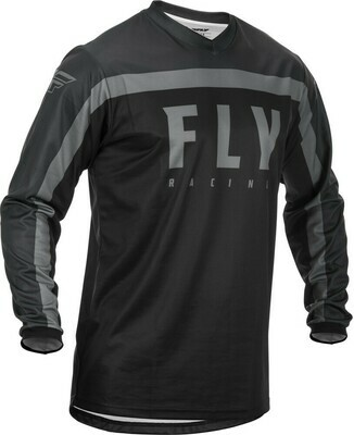 F-16 JERSEY BLACK/GREY