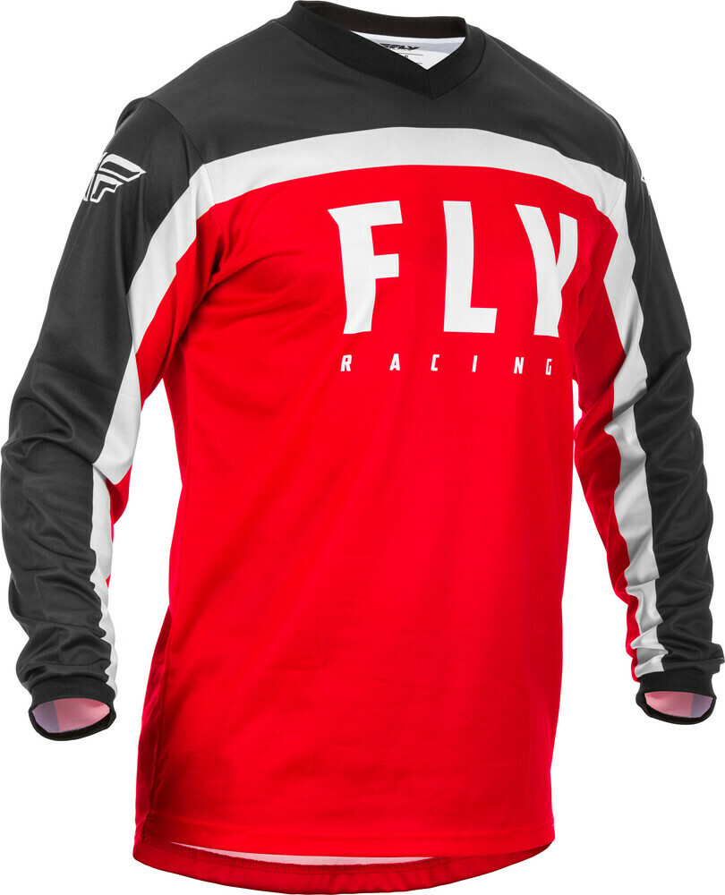 F-16 JERSEY RED/BLACK/WHITE