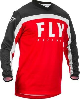 F-16 JERSEY RED/BLACK/WHITE