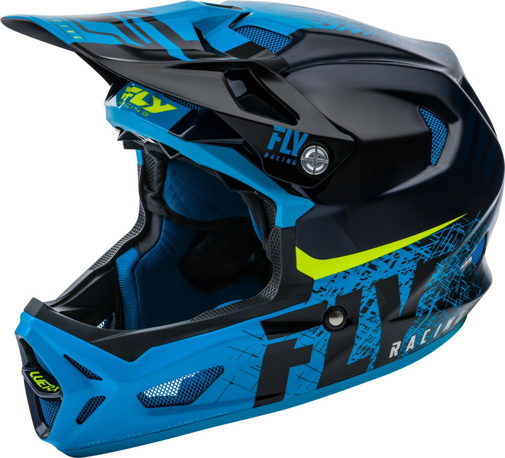 WERX CARBON HELMET BLACK/BLUE