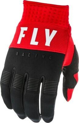 F-16 GLOVES RED/BLACK/WHITE