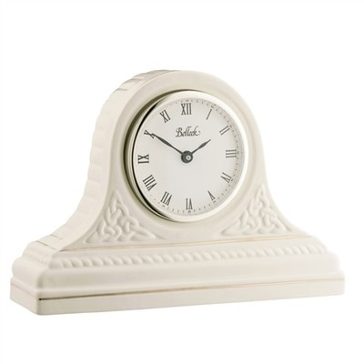 Belleek - Celtic Mantel Clock