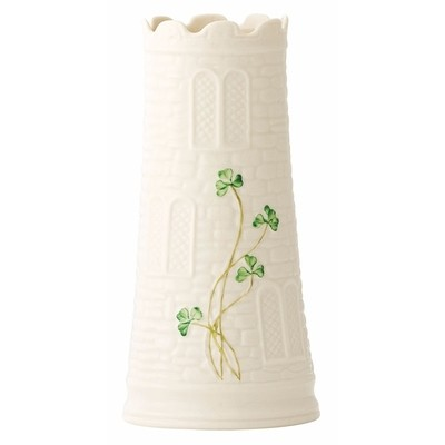 Belleek - Castle Vase 7.7