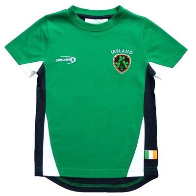 Emerald Ireland Crest Kids T-Shirt