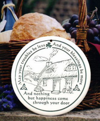 Celtic Cottage Bread Warmer