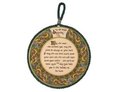 Irish Blessing Rope Plaque