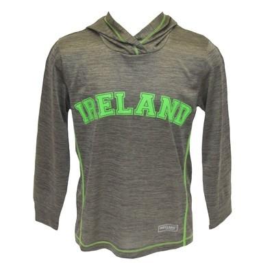 Lansdowne Grey Hooded Kids Sweatshirt