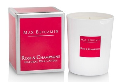 Max Benjamin Rose & Champagne Luxury Scented Candle