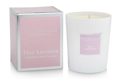 Max Benjamin True Lavender Luxury Scented Candle
