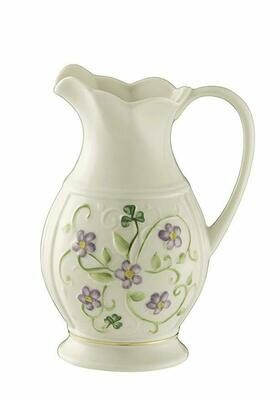 Belleek - Flax Pitcher