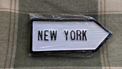 Irish Road Sign - New York