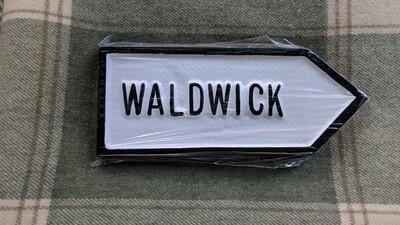 Irish Road Sign - Waldwick