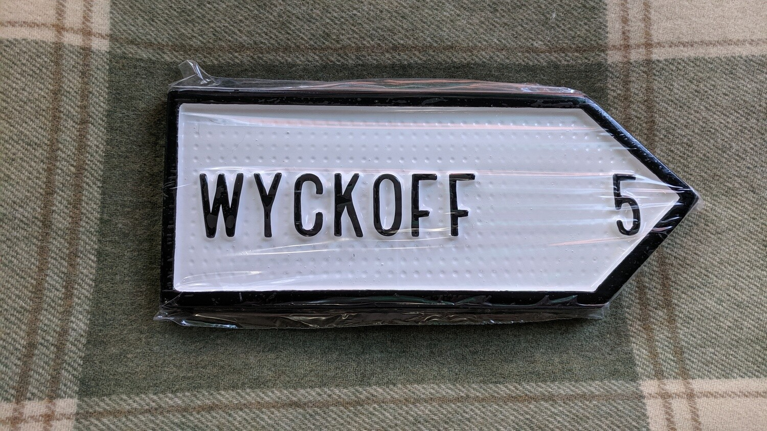 Irish Road Sign - Wyckoff