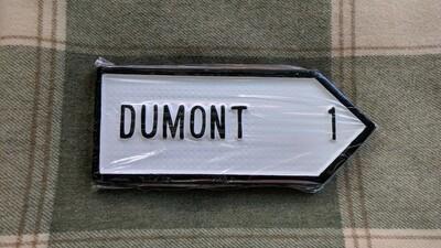Irish Road Sign - Dumont