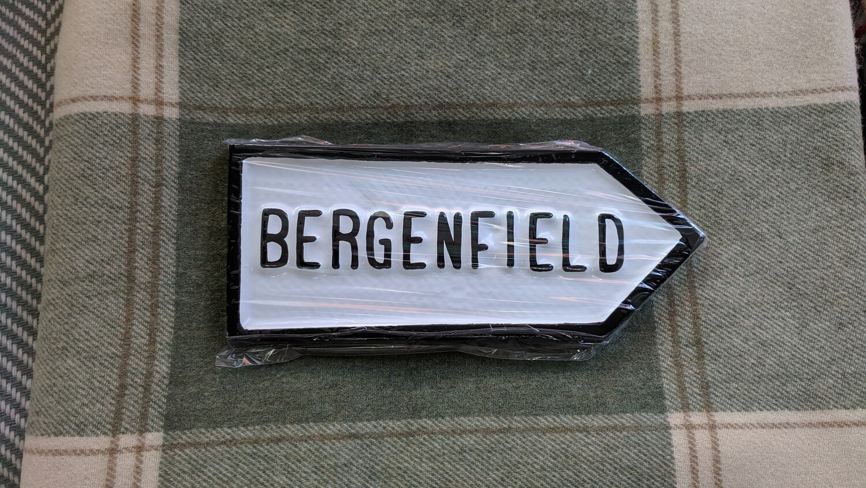 Irish Road Sign - Bergenfield